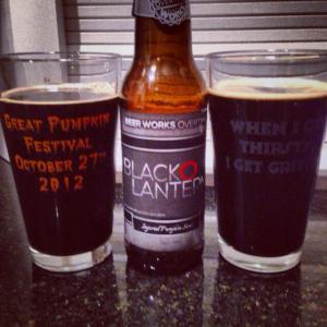 Beer works black o lantern
