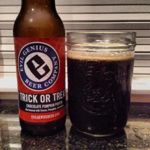 Evil Genius Trick or Treat Chocolate Porter