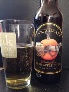 Docs Draft Pumpkin Cider 2014