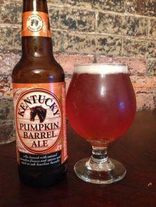 Kentucky pumpkin barrel 2014