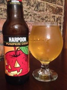 Harpoon Pumpkin Cider 2014
