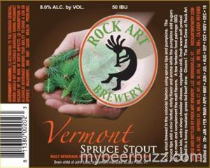 Rock Art Vermont Spruce Pumpkin Stout 2014