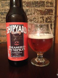 Shipyard Smashed Pumpkin 2014