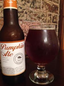 Steven's Point Brewery Whole Hog Pumpkin Ale 2014