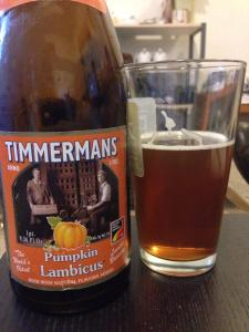 Timmerman's Pumpkin Lambicus 2014