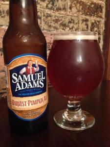 Sam Adams Harvest Pumpkin 2014