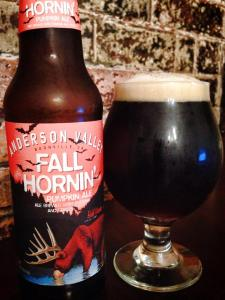 Anderson Valley Brewing Company Fall Hornin 2014