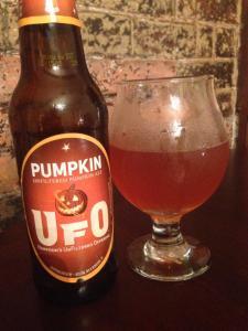 Harpoon UFO Pumpkin 2014