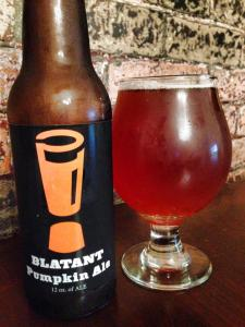 Brewmasters Blatant Pumpkin Ale