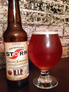 Newport Storm Rhode Island Pumpkin RIP