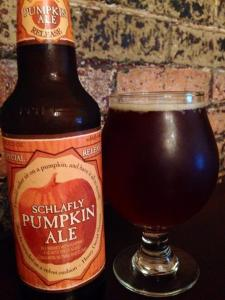 Schlafly Beer Pumpkin Ale 2014