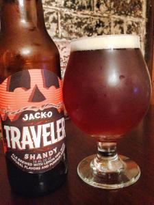 Traveler Beer Co. JackO Shandy 2014
