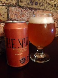 21st Amendment and Elysian He Said Tripel 2014