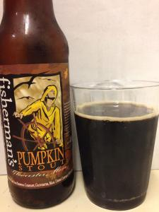 Cape Ann Fishermans Pumpkin Stout 2014
