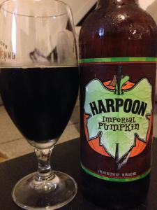 Harpoon Imperial Pumpkin 2014