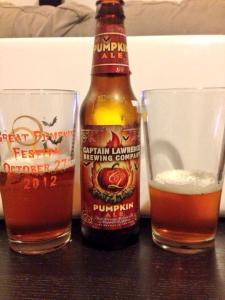 Captain Lawrence Brewing Company Pumpkin Ale