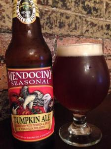 Mendocino Brewing Company Pumpkin Ale 2014