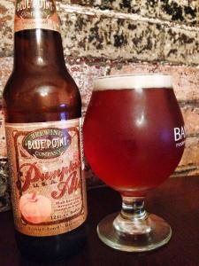Blue Point Brewing Company Pumpkin Ale 2014