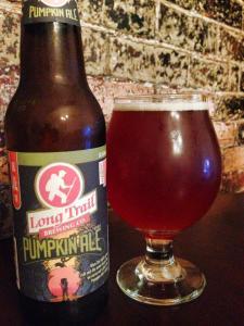 Long Trail Pumpkin Ale 2014