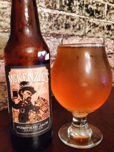 McKenzies Pumpkin Jack Cider 2014
